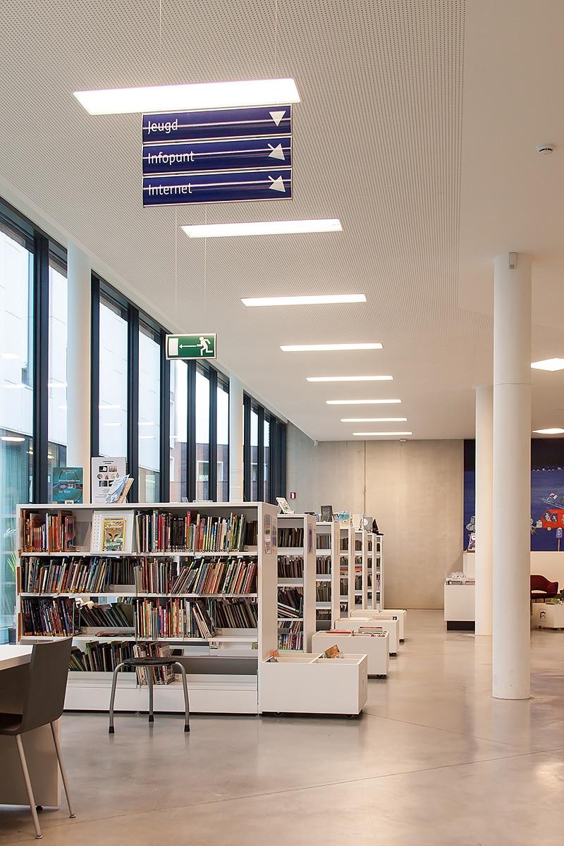 Binnensignalisatie - Bibliotheek Bist - Wilrijk - Sign & Display