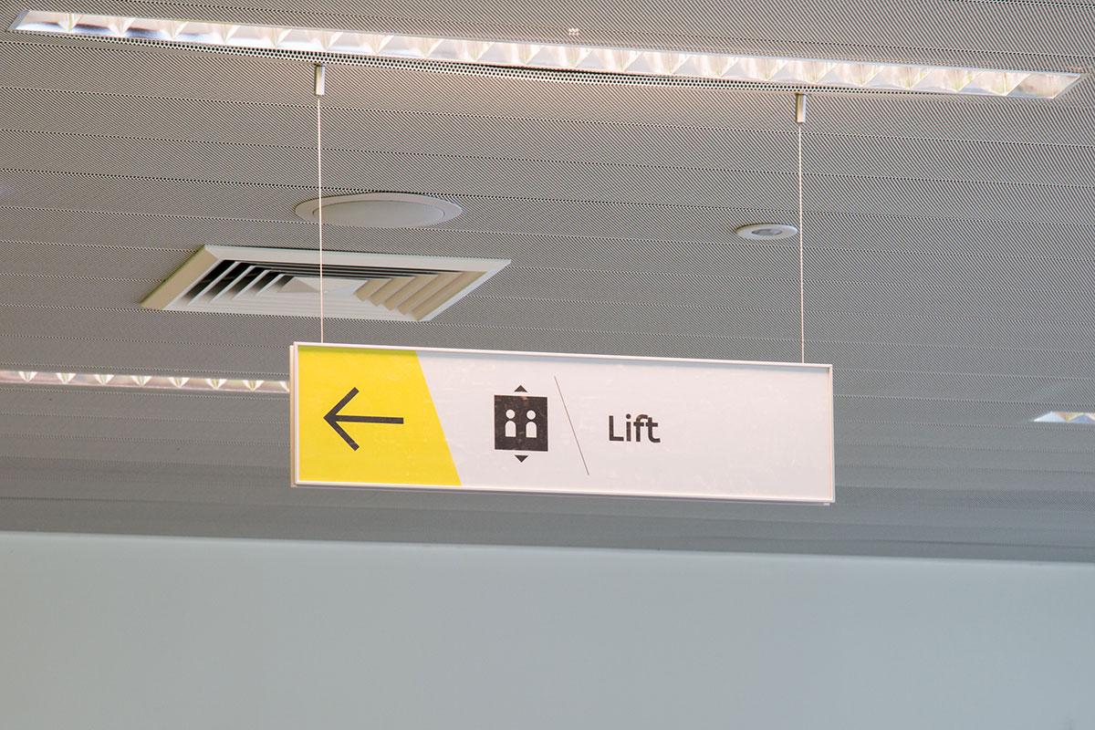 Binnensignalisatie - Vlaamse overheid - Sign & Display