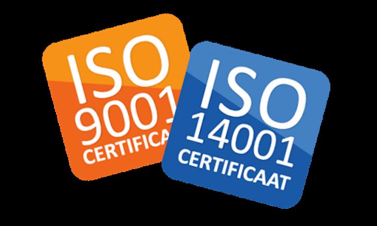 ISO Certificaten 9001 en 14001
