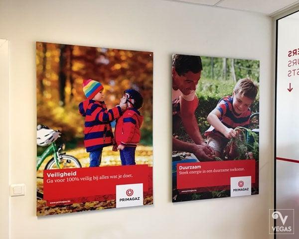 Primagaz - Posters - Office branding