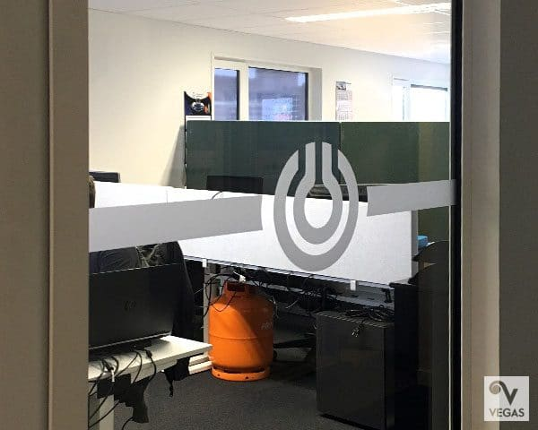 Primagaz - Zandstraalband - Office branding