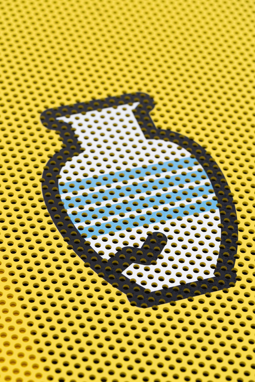 Recyclage Park Berchem - Buitensignalisatie - geperforeerde spandoeken