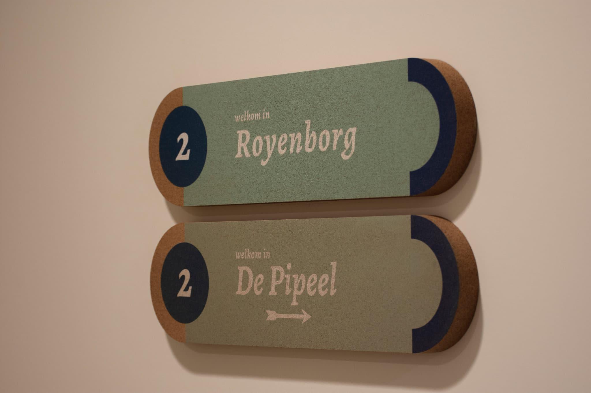 Zorgbedrijf Melgeshof - deurbord