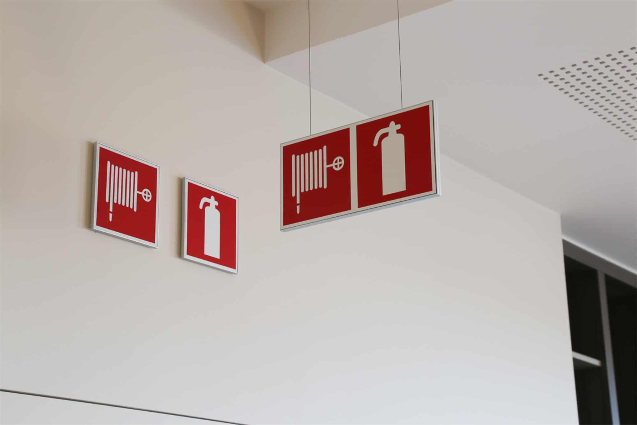 Sign & Display-wayfinding - veiligheidssignalisatie Bocasa