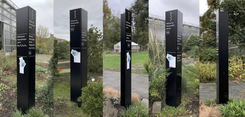 Sign & Display realisatie: Gum - wegwijzers tuin