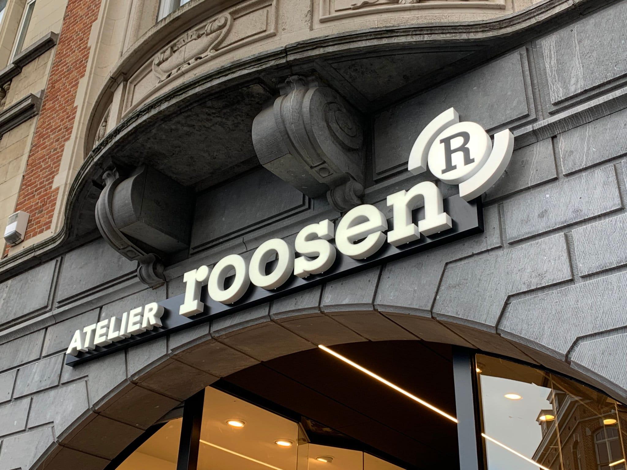 Sign & Display realisatie: Roosen doosletters